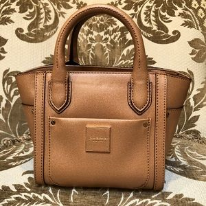 Isaac Misrahi handbag tan mini